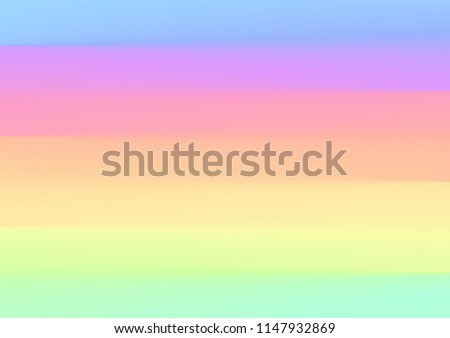 rainbow pastel color background