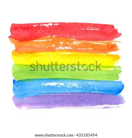 rainbow texture  symbol of gay