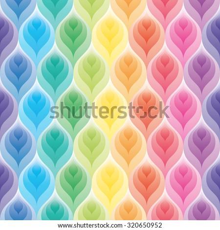 rainbow wallpaper 3d seamless