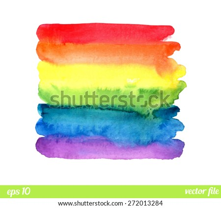 rainbow  watercolor texture
