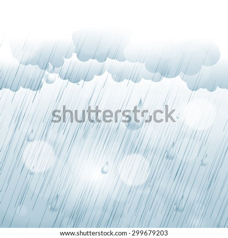 rainy day autumn background