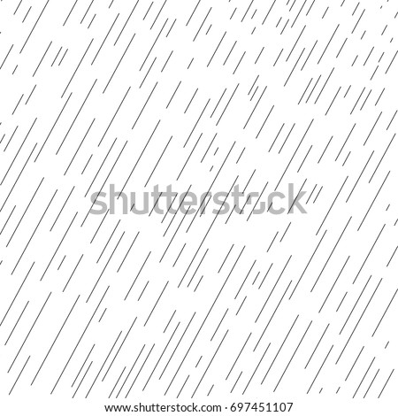 Rainy day Autumn landscape with water drops, rain Fall background transparent effect. Rainy sky wallpaper. Autumn season, rain drops pattern. Weather Vector illustration.