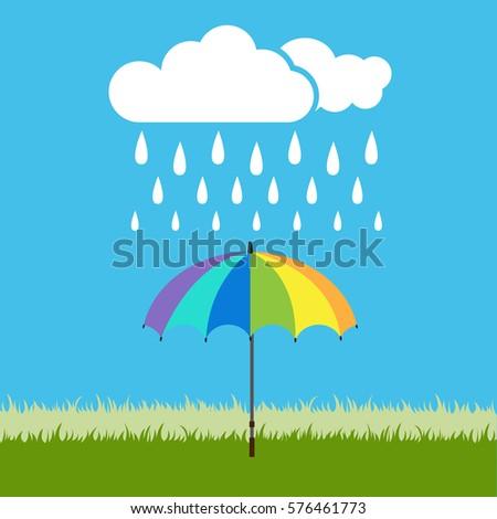 rainy day   rainy vector