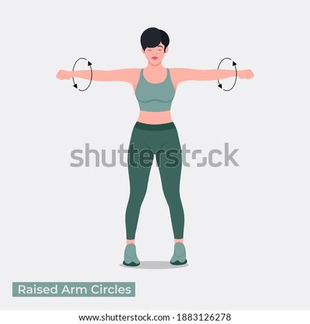 raised arm circles exercise