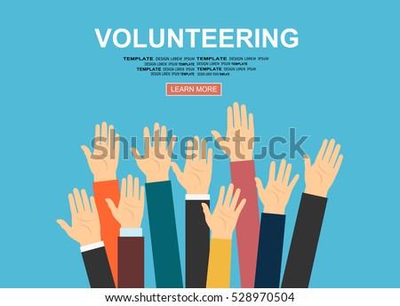 raised hands volunteering...