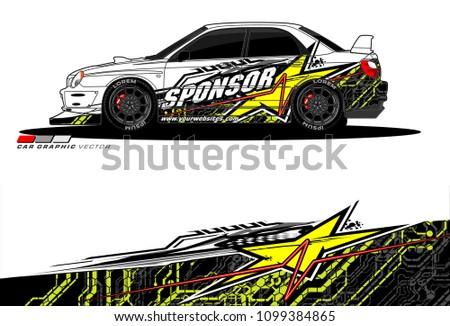 rally car vector livery