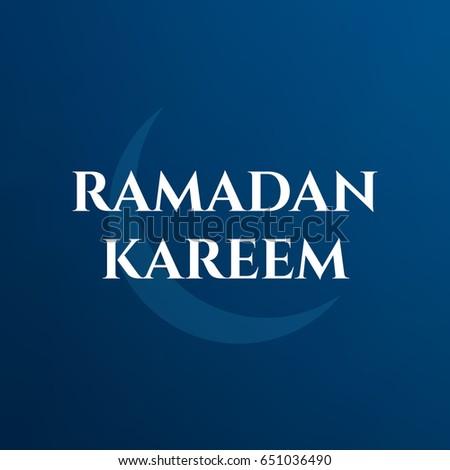 Ramadan kareem abstract background.