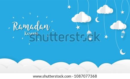 Islamic ramadan festival greeting design download free vector art ramadan kareem cartoon background festival design conceptgreetings ramadan kareem elegant design m4hsunfo