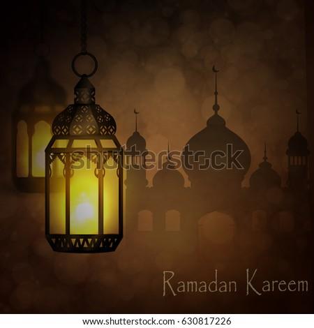 Ramadan Kareem, greeting background - Shutterstock ID 630817226