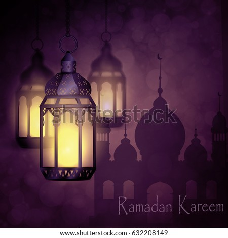 Ramadan Kareem, greeting background - Shutterstock ID 632208149