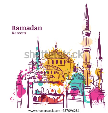 ramadan kareem holiday design