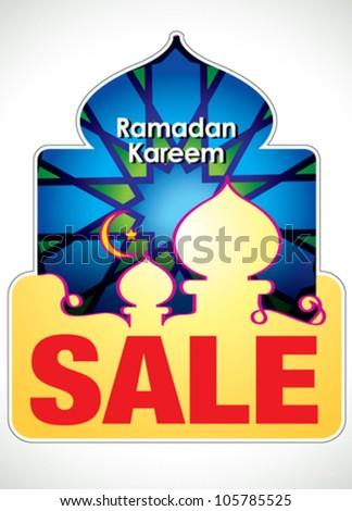 Ramadan Kareem Islamic Arabic design