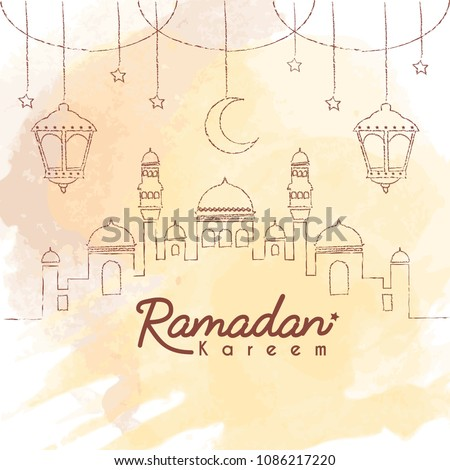 Background Ramadhan Vector At Vectorified Com Collection Of
