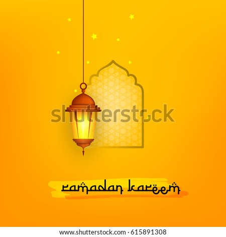 Ramadan Kareem Wallpaper design template.