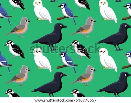 random american birds wallpaper