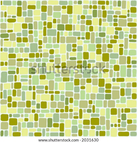 Random pattern floor tiles