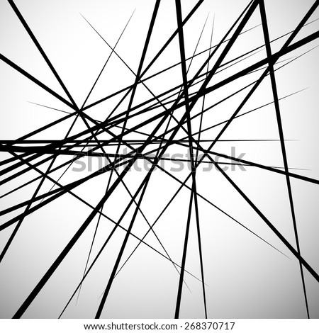 random lines abstract