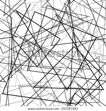 Random lines background. Seamless pattern. Vector.