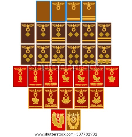 ranks and insignia of the nazi