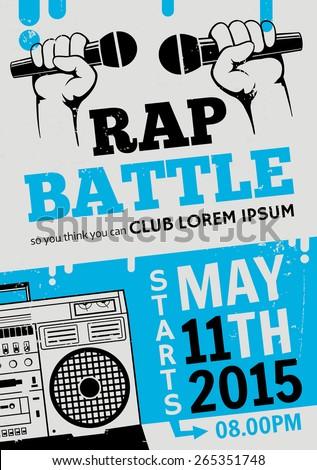 rap battle  concert hip hop
