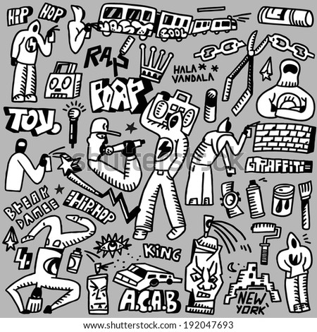 rap hip hop  graffiti   doodles