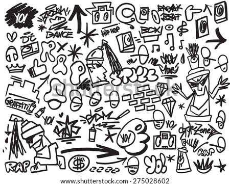 rap music   hip hop   graffiti