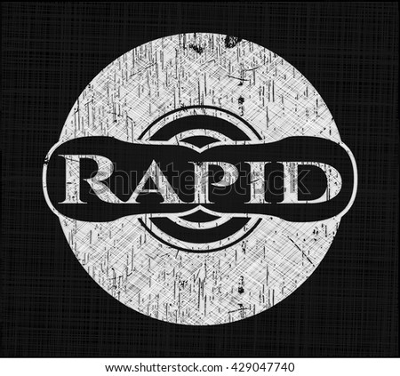 Rapid with chalkboard texture