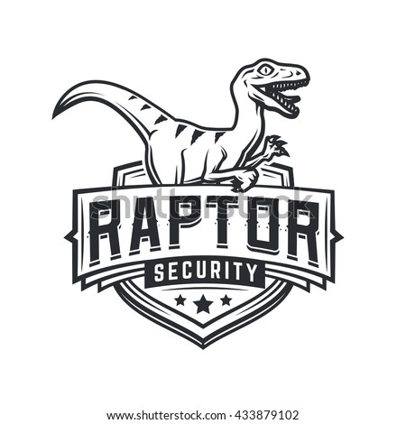 raptor sport logo mascot design