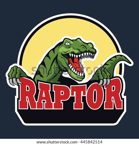 raptor vector badge