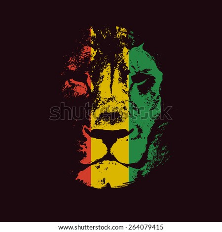 rasta background vector