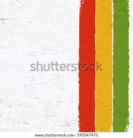 rasta colors grunge background