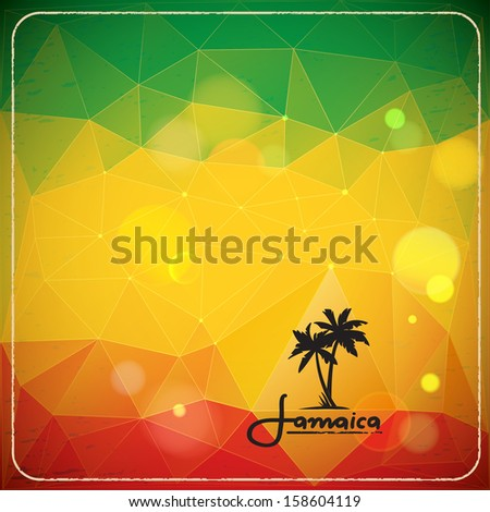 rastaman background with