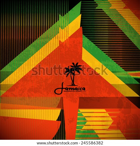 rastaman poster vector