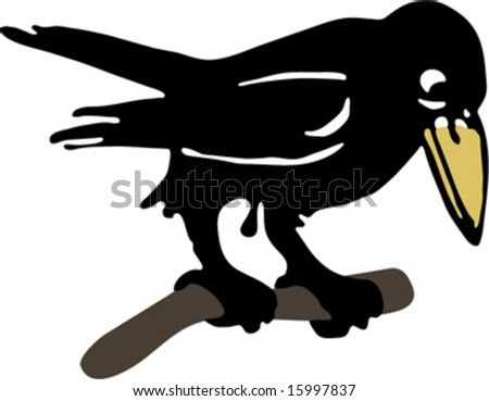 Raven, Crow Illustrations - 15997837 : Shutterstock