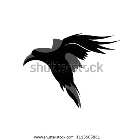 stock-vector-raven-flying-illustration-vector-ideal-for-logo-s-stickers-flyers-promotions-t-shirts