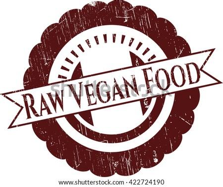 Raw Vegan Food rubber seal