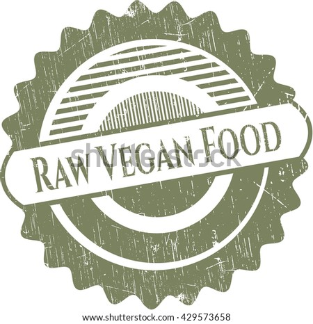 Raw Vegan Food rubber seal