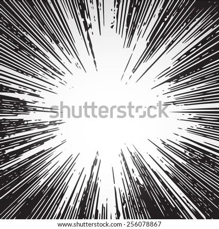 ray burst black big bang