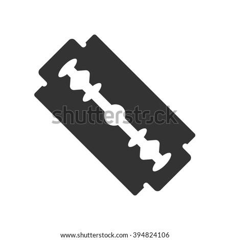 razor blade icon symbol razor