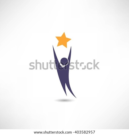 reach for the stars icon