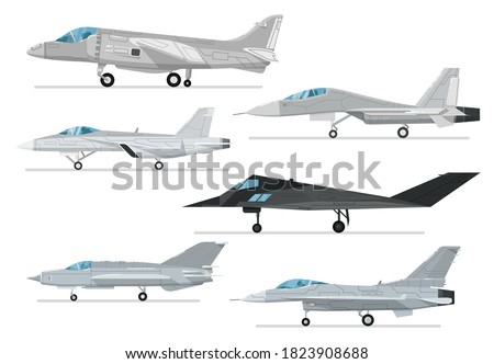 reactive jet collection vector