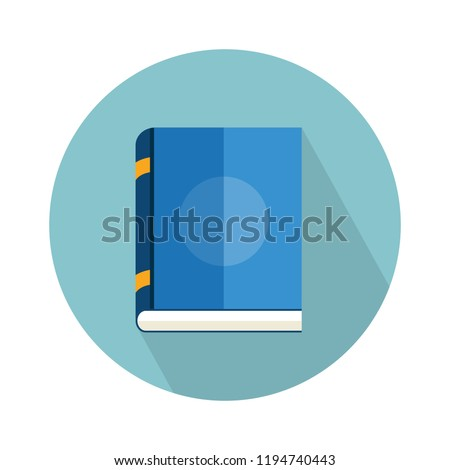 reading book icon. Flat illustration of reading book vector icon for web isolated on white background