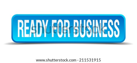 ready for business blue 3d