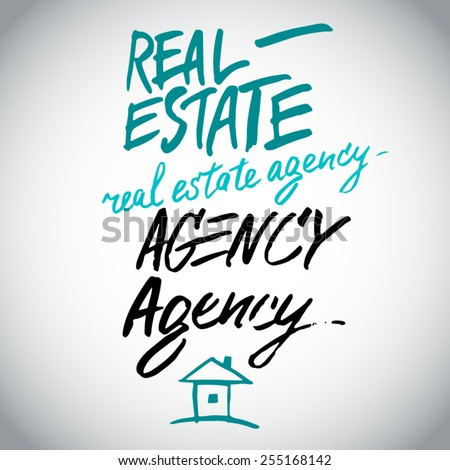 real estate agency hand