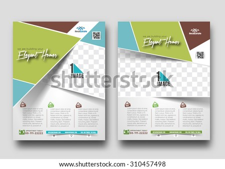 Real Estate Agent Flyer & Poster Template