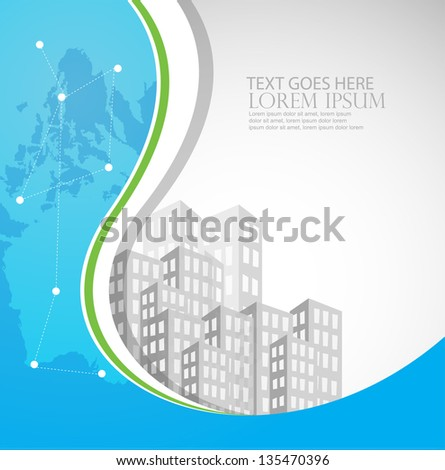 real estate business background/template