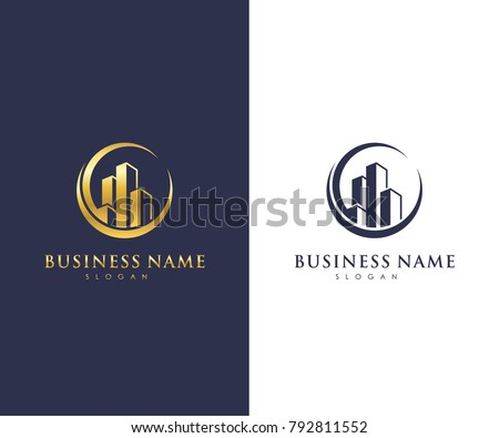 Elegant house logo design template download free vector art stock real estate business logo template building property development and construction logo vector design flashek Images