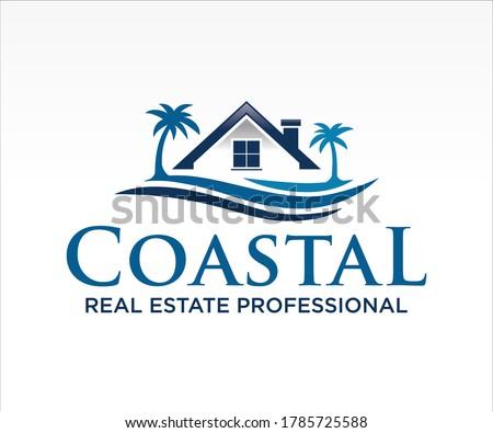 real estate  home  house logo