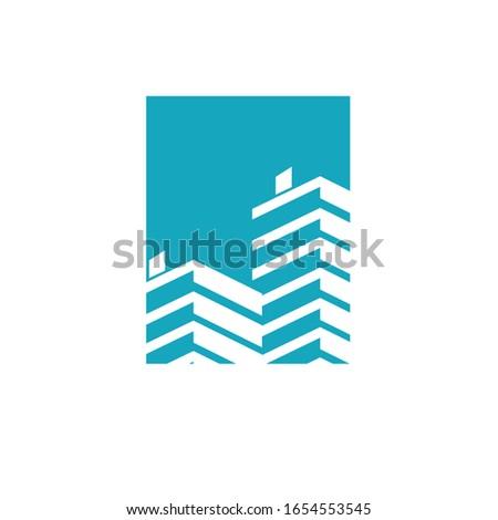 real estate logo  building logo