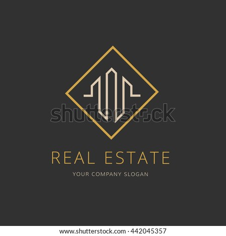 Real estate logo,home logo,house logo, property logo,building logo,vector logo template.
